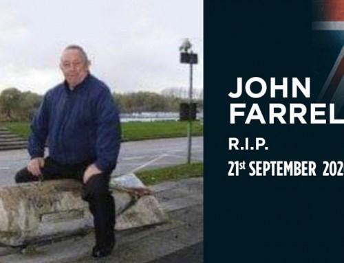 John Farrell – R.I.P. 21st September 2020